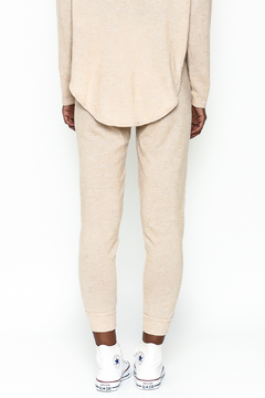 Honey Punch Soft Brushed Jersey Sweatpants - Alternate List Image