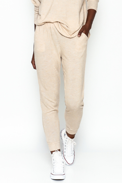 Honey Punch Soft Brushed Jersey Sweatpants - Product List Image
