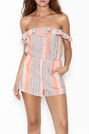 Honey Punch Stripe Romper - Product Mini Image