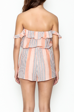 Honey Punch Stripe Romper - Alternate List Image