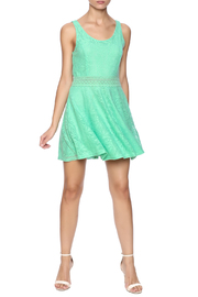 Honey Punch Sweetly Southern Dress - Front full body