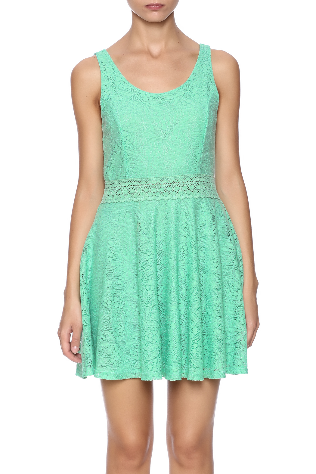 Honey Punch Sweetly Southern Dress - Side Cropped Image