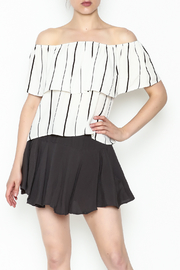 Honey Punch Tiered Stripe Top - Product Mini Image