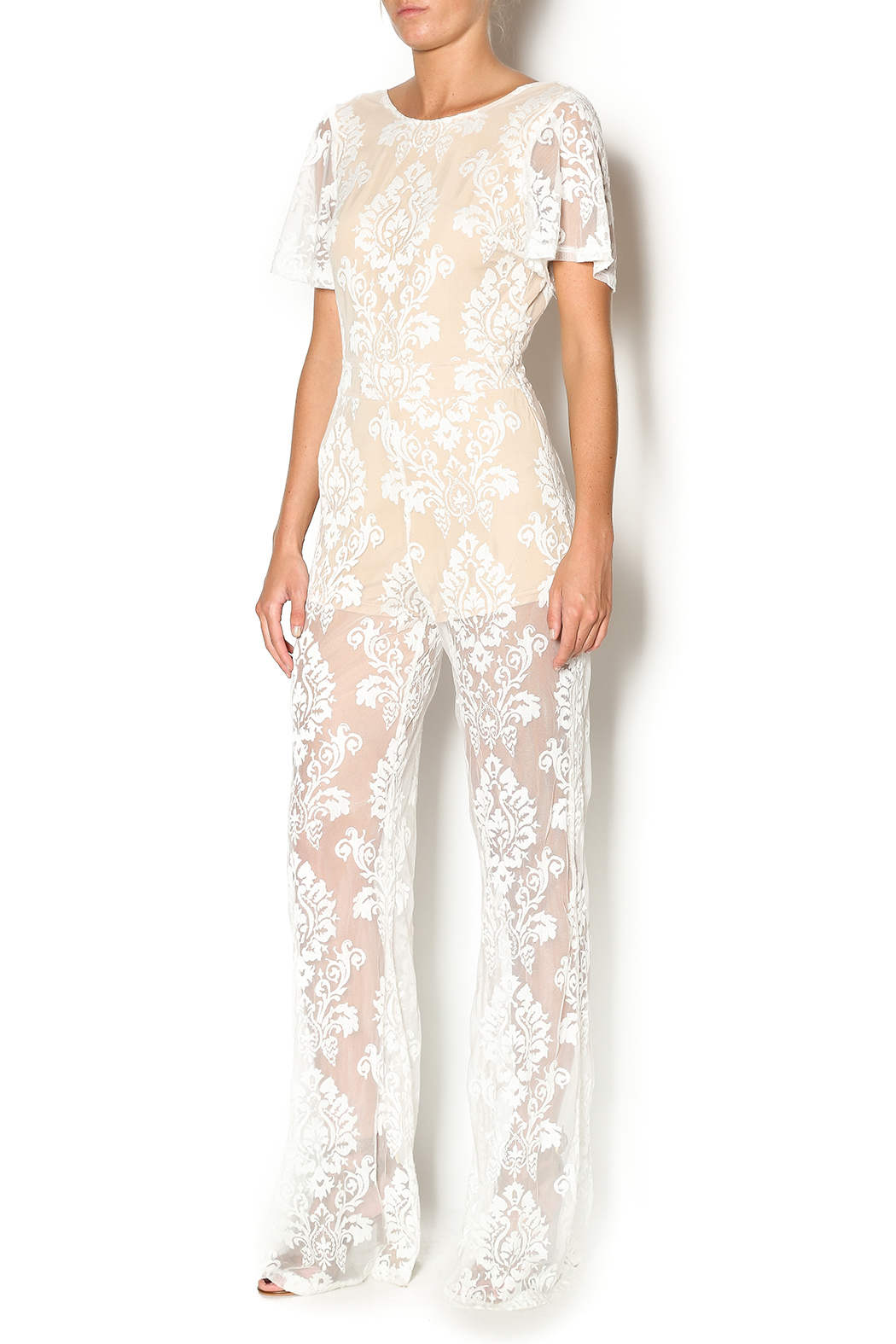 2874e7fee0e Honey Punch White Lace from Los Angeles by Rich Hippie — Shoptiques