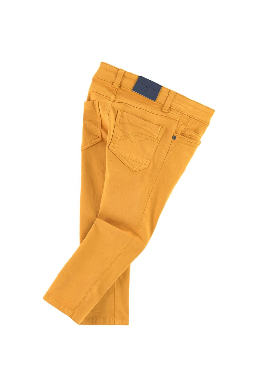 Mayoral Honey Serge Pant - Front Full Image