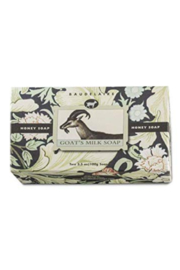 The Birds Nest HONEY SOAP GOAT'S MILK (TWO BARS) - Product Mini Image