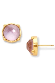 The Birds Nest HONEY STUD IN IRIDESCENT ROSE - Product Mini Image