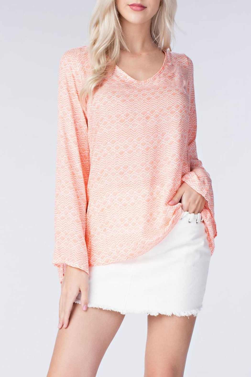 honey belle Coral Breeze Top - Main Image