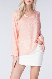 honey belle Coral Breeze Top - Front cropped