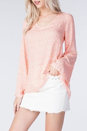 honey belle Coral Breeze Top - Side cropped