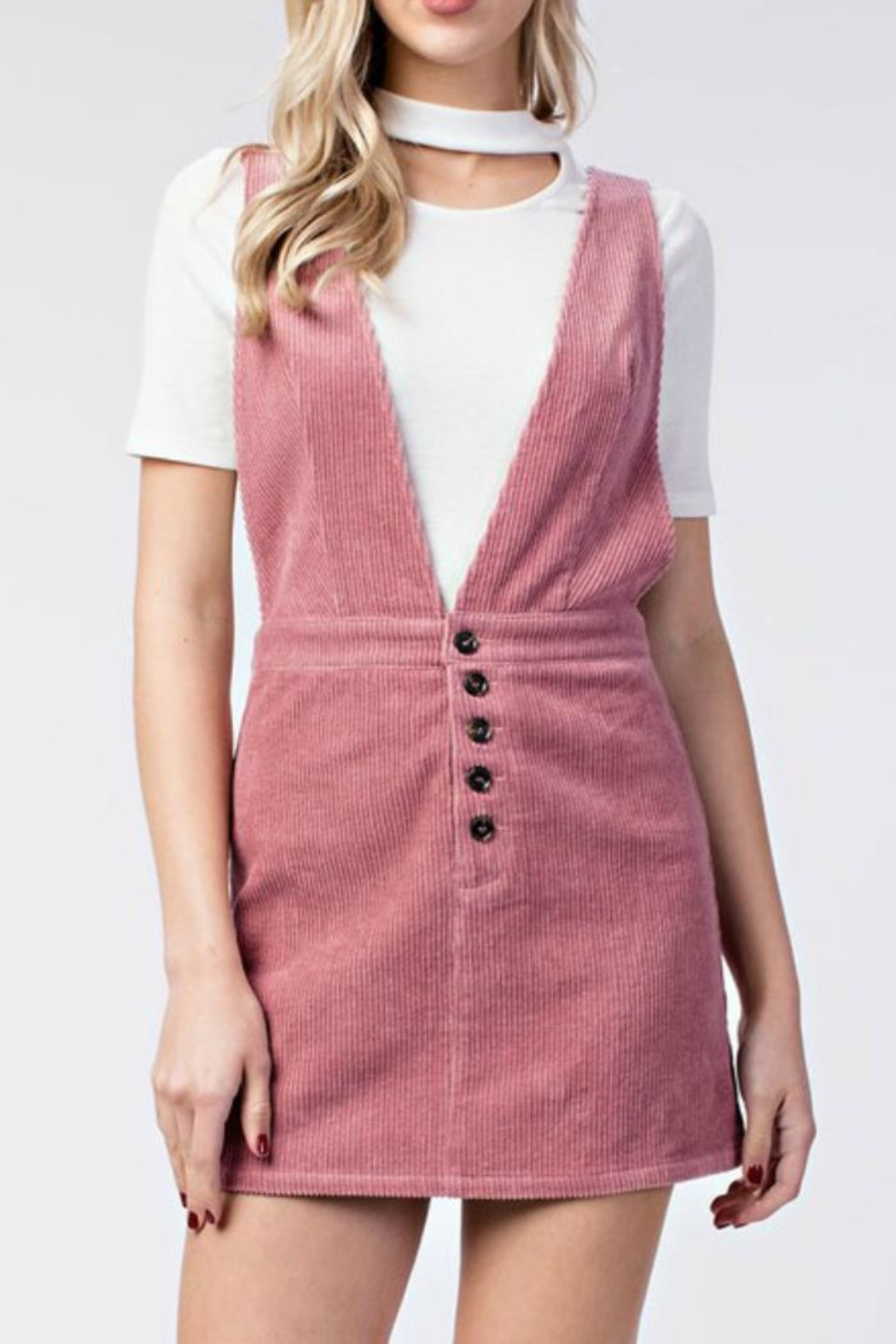 1ec2873abce9f honey belle Corduroy Overall Dress from Tennessee by Threads ...
