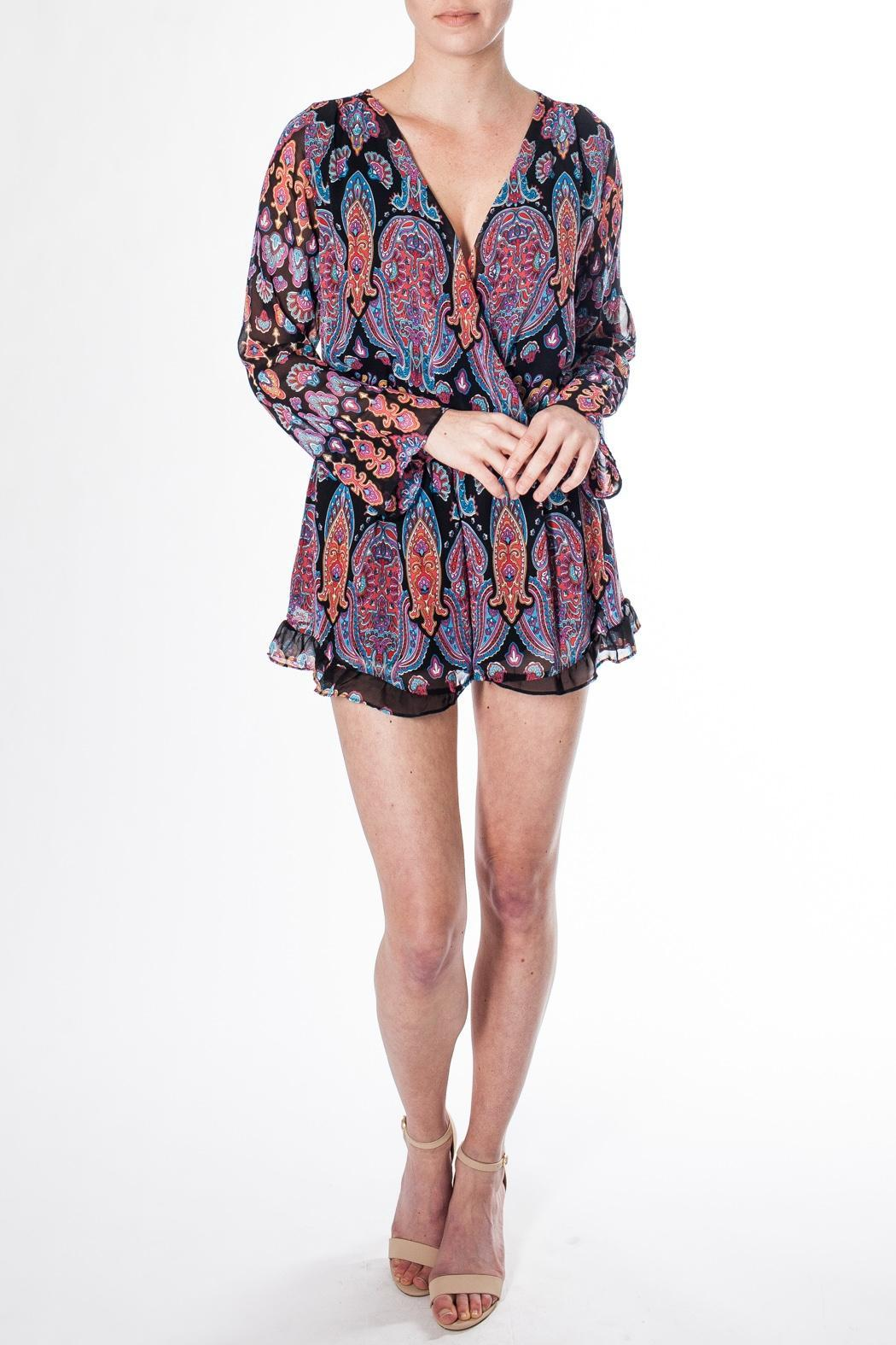 d01c9b6aeae honey belle Paisley Surplice Romper from Canada by Mad About Style ...
