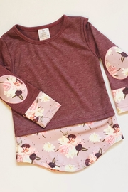 Honey Dew  Blush Top - Front cropped