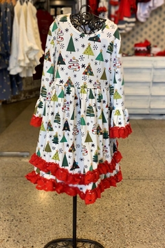 Shoptiques Product: Christmas Tree Dress