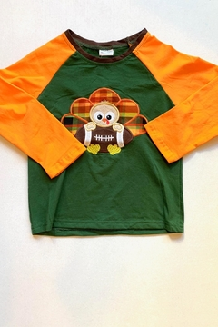 Honey Dew  Football Turkey Tee - Alternate List Image