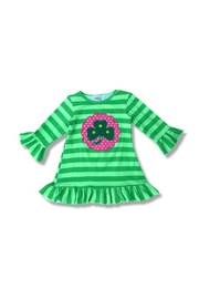 Honey Dew  Girls Shamrock Dress - Product Mini Image