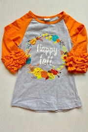 Honey Dew  Happy Fall Tee - Front cropped