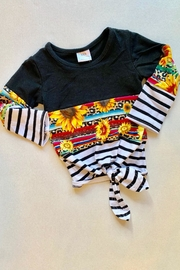 Honey Dew  Ls Sunflower Tee - Front cropped