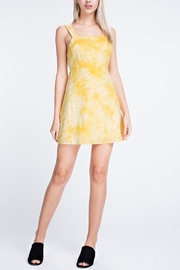 Honey Punch Apron Mini Dress - Front cropped