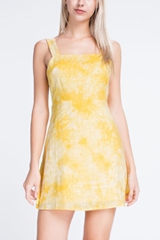 Honey Punch Apron Mini Dress - Side cropped