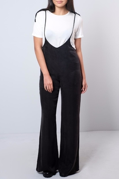 Honey Punch Bell-Bottom Jumpsuit - Product List Image