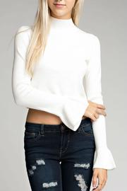 Honey Punch Bell Sleeve Sweater - Product Mini Image