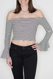 Honey Punch Bell Sleeve Top - Product Mini Image