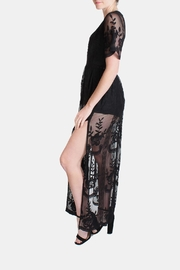 Honey Punch Black Butterfly Maxi-Dress - Other