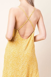 Honey Punch Bright Yellow Dress - Side cropped