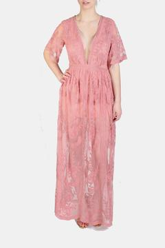 Shoptiques Product: Butterfly Lace Ginger Romper