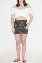 Honey Punch Camouflage Skirt - Product Mini Image