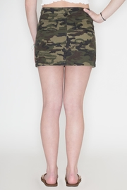 Honey Punch Camouflage Skirt - Back cropped
