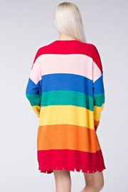 Honey Punch Candy Striped Cardigan - Other