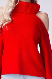 Honey Punch Cold Shoulder Sweater - Other