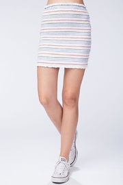 Honey Punch Colorful Stripe Skirt - Product Mini Image
