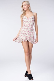Honey Punch Cream Floral Dress - Product Mini Image