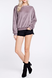 Honey Punch Crewneck Top - Product Mini Image