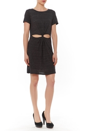 Honey Punch Cut Out T-Shirt Dress - Front cropped