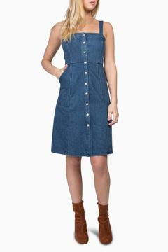 Shoptiques Product: Denim Button Down Dress