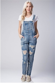 Honey Punch Denim Overall - Product Mini Image