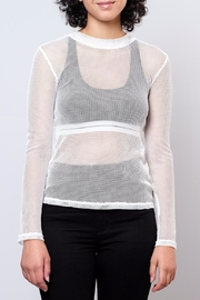 Honey Punch Fitted Mesh Top - Product Mini Image