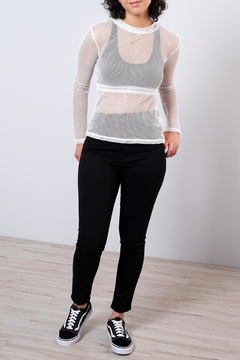 Honey Punch Fitted Mesh Top - Alternate List Image
