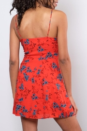 Honey Punch Floral Cami Dress - Side cropped