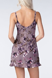 Honey Punch Floral Slip Dress - Front full body