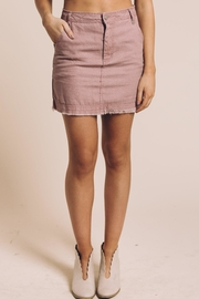 Honey Punch Frey Mini Skirt - Product Mini Image
