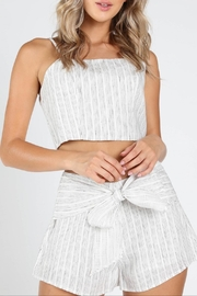 Honey Punch Get-Stripe To-It Crop-Top - Product Mini Image