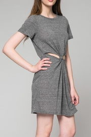 Honey Punch Heathered Cut Out Dress - Product Mini Image