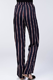 Honey Punch High Waist Striped Pants - Front cropped