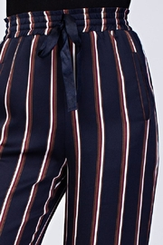 Honey Punch High Waist Striped Pants - Side cropped