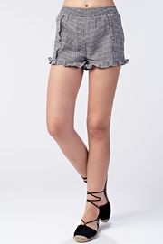 Honey Punch High-Waist Ruffle Shorts - Product Mini Image